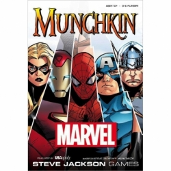 CARD GAME MUNCHKIN MARVEL (ENGLISH)