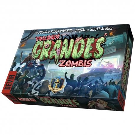 Pequeños Grandes Zombis es un juego de cartas de supervivencia brutal de devir