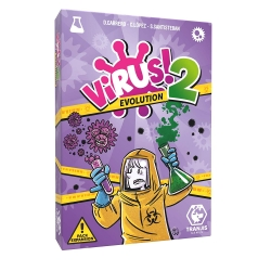 Virus! 2 Evolution Expansion Card Game from Tranjis Games