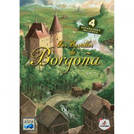 Juego de mesa Los Castillos de Borgoña de Maldito Games
