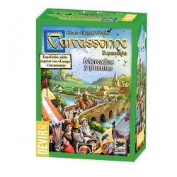 Expansion Carcassonne Markets and bridges (2018) Devir
