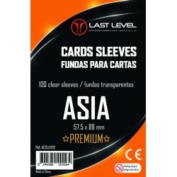 FUNDAS LAST LEVEL ASIA PREMIUM (57.5x89) (50)