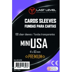 FUNDAS LAST LEVEL MINI USA PREMIUM (41x63) (50)