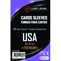 FUNDAS LAST LEVEL USA PREMIUM (56x87) (50)