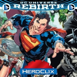 DC HEROCLIX REBIRTH RELEASE DAY OPKIT