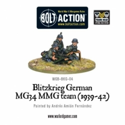 BLITZKRIEG GERMAN MG34 MMG TEAM (1934-42)