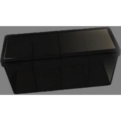 Caja 4 Espacios Acrilico Dragon Shield Negro