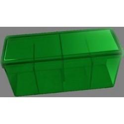 Caja 4 Espacios Acrilico Dragon Shield Verde
