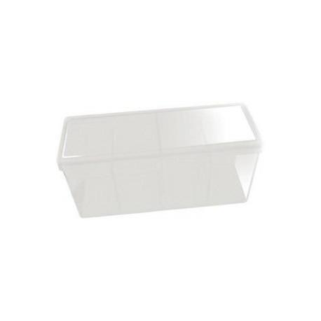 Caja 4 Espacios Acrilico Dragon Shield Blanco