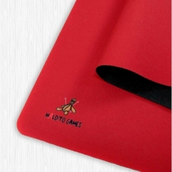 Neoprene mat - Red