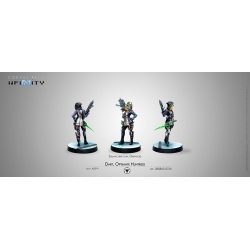 ALEPH DART, OPTIMATE HUNTRESS (SUBMACHINE GUN, GRENADES) Infinity de Corvus Belli referencia 280863-0756
