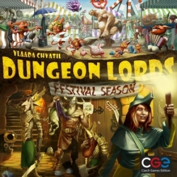 Dungeon Lords: Festival Season (English)