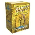 Funda Dragon Shield Amarillo (100)