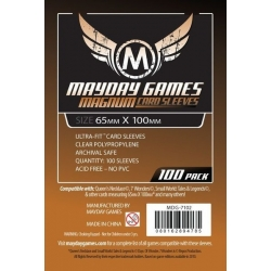"[7102] Magnum Copper Sleeve: 65 MM X 100 MM Card Sized -""7 Wonders"""
