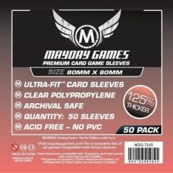 [7145] Premium Medium Square Card Sleeves (80 X 80 MM) (pack of 50)