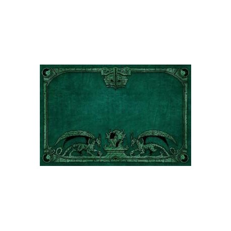 Tapete Dragon Shield Verde