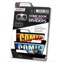 COMIC BOOK DIVIDERS - PREMIUM - BLACK