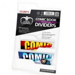 COMIC BOOK DIVIDERS - PREMIUM - WHITE