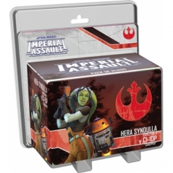 STAR WARS IMPERIAL ASSAULT - HERA SYNDULLA Y C1-10P