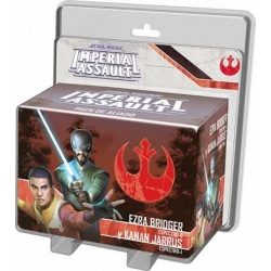 STAR WARS IMPERIAL ASSAULT - EZRA BRIDGER Y KANAN JARRUS