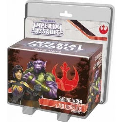 STAR WARS IMPERIAL ASSAULT - SABINE WREN Y ZEB ORELLIOS