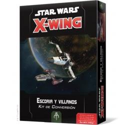 X-WING 2ª EDICIÓN. ESCORIA Y VILLANOS - KIT DE CONVERSIÓN