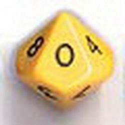 Bolsa 50 Dados 10 Caras Opaco