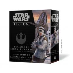 STAR WARS LEGIÓN: DOTACION DE CAÑON LASER 1-4 FD