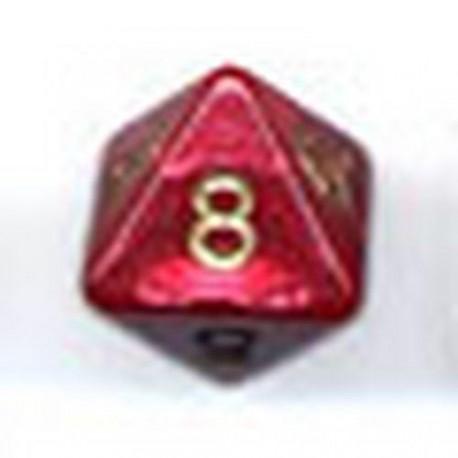 Bolsa 25 Dados 8 Caras Perla