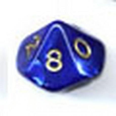 Bolsa 50 Dados 10 Caras Perla