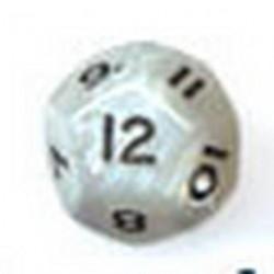 Bolsa 25 Dados 12 Caras Perla