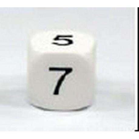 BOLSA 6 DADOS 16 mm. NUMEROS 2.3.4.5.6.7