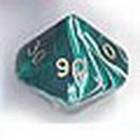 Bolsa 25 Dados 10 Caras 00-90 Marmol