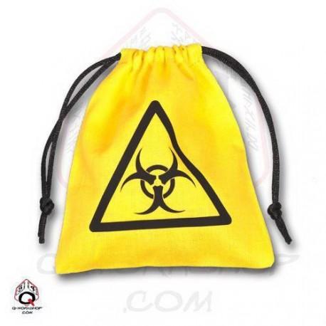 Qw Bolsa Dados Biohazard Amarillo