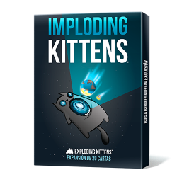 Imploding kittens is the first expansion for Asmodee's super fun card game Exploding Kittens