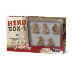 ZOMBICIDE: BLACK PLAGUE. HERO BOX 1
