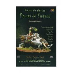 CURSO DE PINTURA - FIGURAS DE FANTASÍA - NIVEL BÁSICO - CD