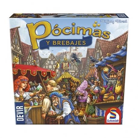 juego de mesa de estrategia Pócimas y Brebajes de Devir