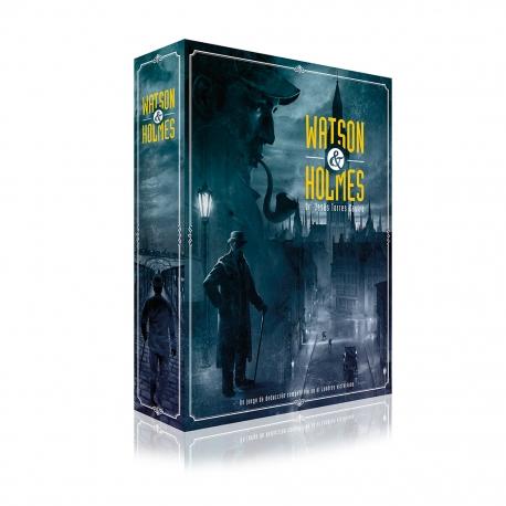 JUEGO DE MESA Watson & Holmes 2ª Edición DE LUDONOVA