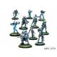 Spiral Corps pertenece a NA2 (los ejércitos no alienados). Está compuesta por veteranos del ejército Tohaa y algunos mercenarios