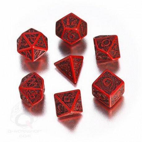 Qw Caja Dados Set Celtic Rojo (7)