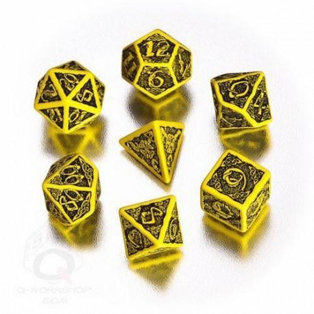 Qw Caja Dados Set Celtic Amarillo (7)