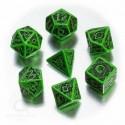 Qw Caja Dados Set Celtic Verde (7)