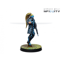 Panoceania Zulu-Cobra, Special Recon and Intervention Team (Hacker) Infinity from Corvus Belli reference 281208-0763