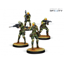 Brawlers, Mercenary Enforcers box NA2 Infinity from Corvus Belli reference 280736-0766