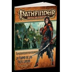 Expansión Pathfinder Aventuras La Calavera de la Serpiente 2, Ciudad de las 7 Lanzas de Devir