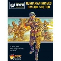 EXPANSIÓN BOLT ACTION HUNGARIAN ARMY HONVED DIVISION SECTION DE WARLORD GAMES