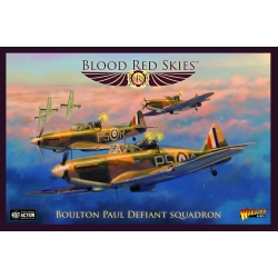EXPANSIÓN BLOOD RED SKIES BOULTON PAUL DEFIANT SQUADRON DE WARLORD GAMES