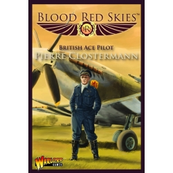 EXPANSIÓN BLOOD RED SKIES SPITFIRE MK IX ACE: PIERRE CLOSTERMAN DE WARLORD GAMES