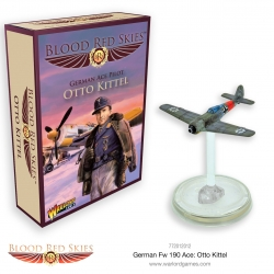 EXPANSIÓN BLOOD RED SKIES FW ACE OTTO KITTEL DE WARLORD GAMES